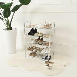 모던 신발정리대 4단(최다15켤레)