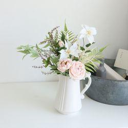 클레마티스 장미 믹스 꽃다발