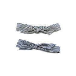 [오뜨르뒤몽드] denim stripe turban hairband (2colors)