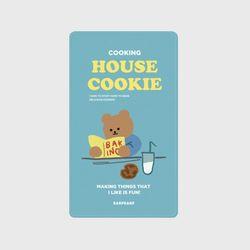 cookie bear-sky blue(보조배터리)
