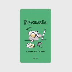 Brunch cat-green(보조배터리)