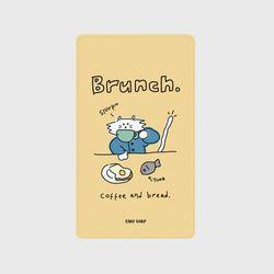 Brunch cat-Creamyellow(보조배터리)
