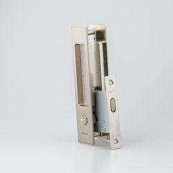 도무스 미닫이문 슬라이딩락 DSL 160 니켈 (욕실용) 동전KEY