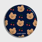 Dot cherry bear-navy(거울)