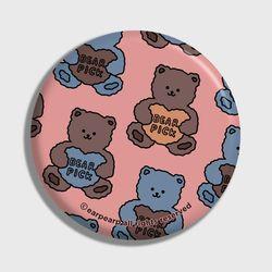Bear pick-pink(거울)