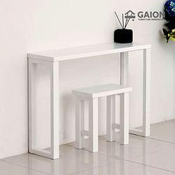 루나 800 원목 장식 테이블 의자 세트