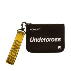 [UNDERCROSS] 핸드 스트랩 파우치 PU 블랙