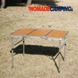 노마드  밤부 3 단캠핑테이블 (90x60)캠핑테이블