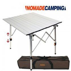 노마드 투엑스 알루미늄 롤 테이블 -실버캠핑테이블