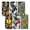 군 마크 선물 군인 전역 입대  휴가 군대 카모 핸드폰 케이스