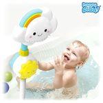 목욕놀이 무지개 아기 구름 샤워기 물놀이 장난감