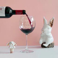 토끼 와인스토퍼