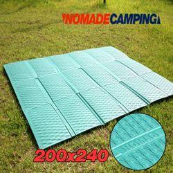 노마드 캠핑매트200x240-그린 피크닉돗자리