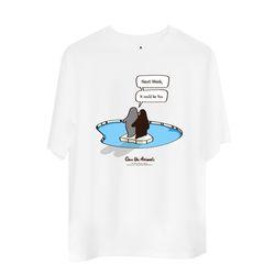 유기묘 유기견 기부 비프렌드 티셔츠 PENGUIN