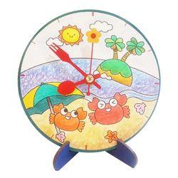 여름 해변 탁상시계