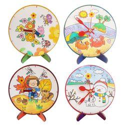 봄여름가을겨울 탁상시계