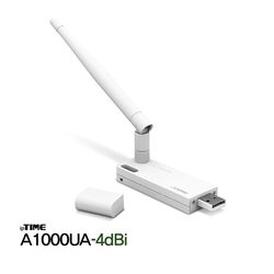 [iptime] 아이피타임 무선랜카드 A1000UA-4dBi (USB1안테나)