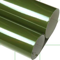 인테리어필름지 (IH724) 고광택 올리브그린(길이50cm)
