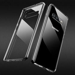 갤럭시 S10 플러스 투명 강화유리케이스 CS