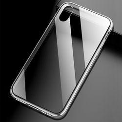 아이폰 X XS 투명 강화유리케이스 CS