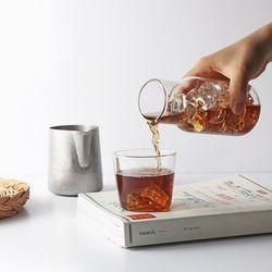 티도요 내열유리 컵 앤 카라페 세트(컵160ml+카라페400ml)