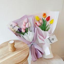 시들지 않는 튤립 조화꽃다발(택1)