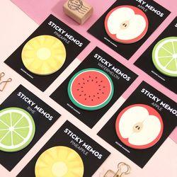 STICKY MEMOS- FRUITS