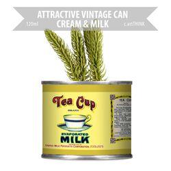 [레트로공캔] AVC-CM-S101-120ml TEA CUP MILK