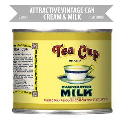 [레트로공캔] AVC-CM-L101-350ml TEA CUP MILK