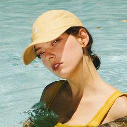 비치플레이바 B로고 볼캡 - Yellow