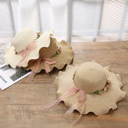 꽃보다햇 왕골모자 모자 비치모자 여름모자 밀짚모자