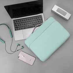 A14 맥북 노트북 가방 슬리브 13인치-13.5인치 라이트블루