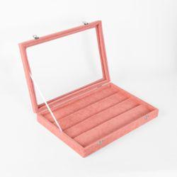 귀걸이 보석함(핑크)(35x34cm)
