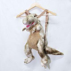 티라노 공룡 가방 아동백팩 (베이지L)