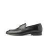 BLACK BOX CLASSIC FIT PENNY LOAFERS BLACK