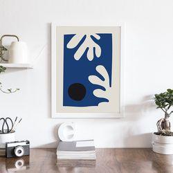 블루리프 앙리마티스 인테리어 액자 A3 포스터