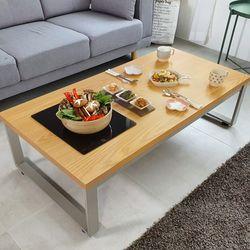 스마트쿡 좌식 식탁테이블 900x600 불판포함