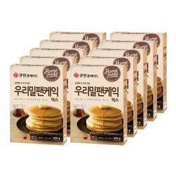 (10개입) 큐원 우리밀팬케익믹스 한박스 (프라이팬용)