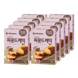 (10개입) 큐원 파운드케익믹스 한박스(오븐용)