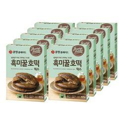 (한박스10개입) 큐원 흑미꿀호떡믹스 (프라이팬용)