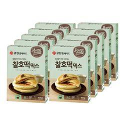 (한박스10개입) 큐원 찰호떡믹스 (프라이팬용)