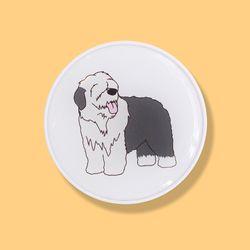 잉글리쉬쉽독 강아지 에폭시 스마트톡 그립톡 거치대