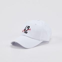 포티세컨드 42번가 볼캡 모자  -White