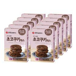 (한박스10개입) 큐원 초코쿠키 믹스 (오븐용)