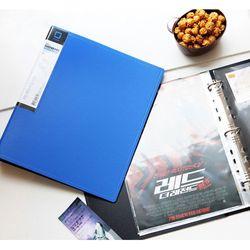 유니크 3공 D링바인더 화일 7cm 파일 티켓북
