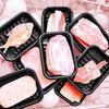 아이디어 고기 생선 메모지 접착메모지 떡메