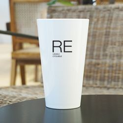 RE : 불투명 플라스틱 파티컵 (벤티) 10개입