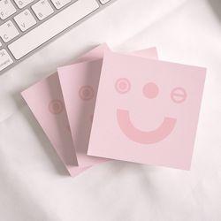 메모지 - Pockerface pink - 포커페이스 핑크