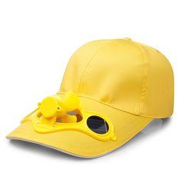갓샵 핵인싸템 태양열 선풍기 모자 캡 3color
