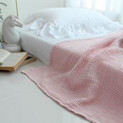 모달 3중거즈 이불(핑크)-사이즈:S